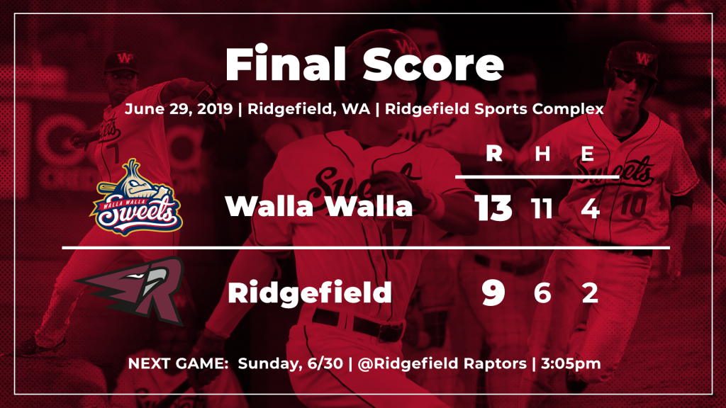 3fcaf2c85c374 The Raptors scored three times in the ninth to create the final margin of  difference.