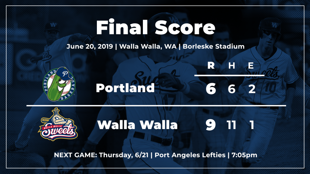 "2a298e52a5f590 ""I like the way they continue to battle every inning,"" Walla Walla manager  Frank Mutz said. ""They keep coming back. That's the personality."