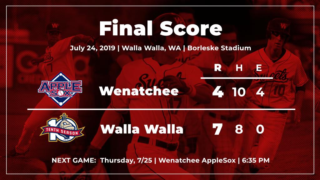 News - Walla Walla Sweets Baseball