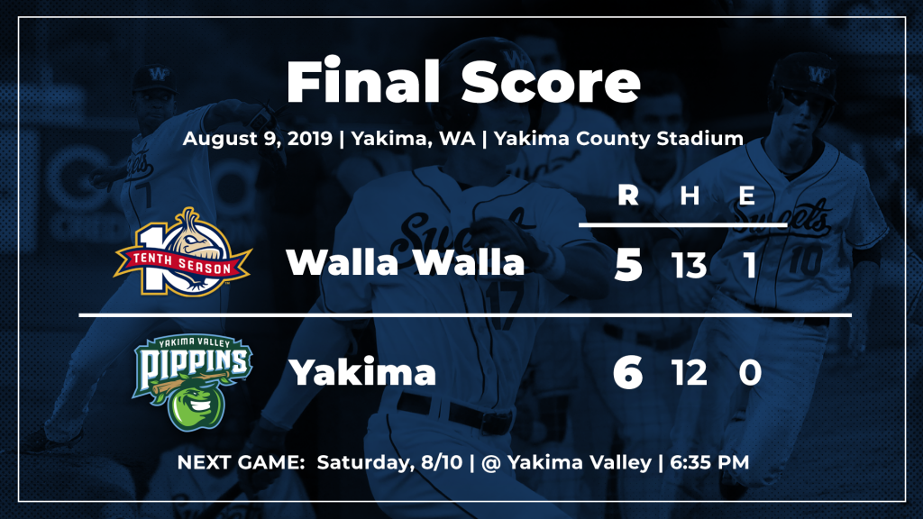 Top Stories - Walla Walla Sweets Baseball